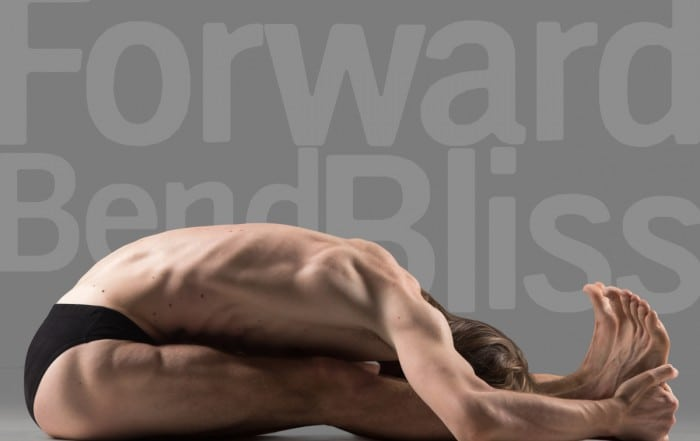 Forward Bend Bliss by Leigh Milne