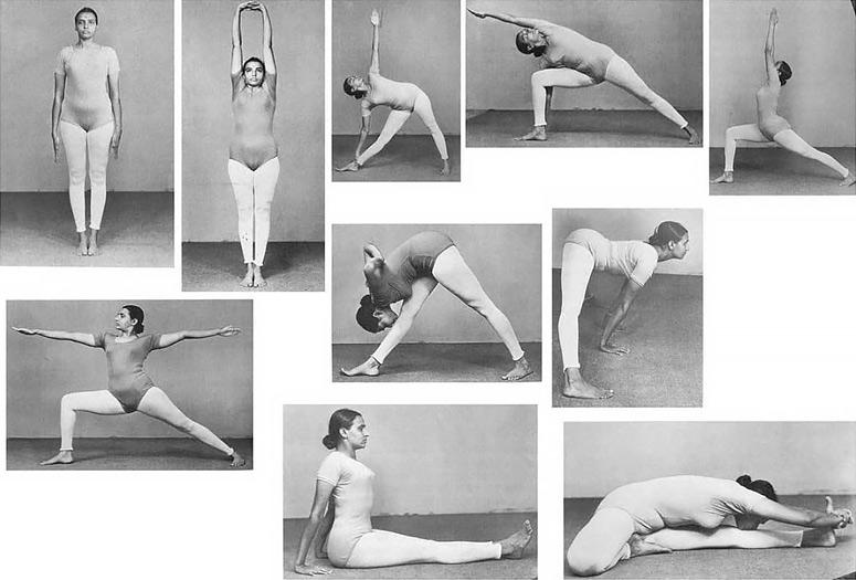 Geeta Iyengar - Yoga Poses