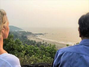 With Fr. Joe Pereira in Goa, 2017